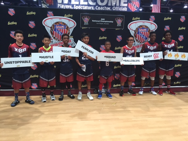 XBA PERFORMS AT AAU WESTERN NATIONALS