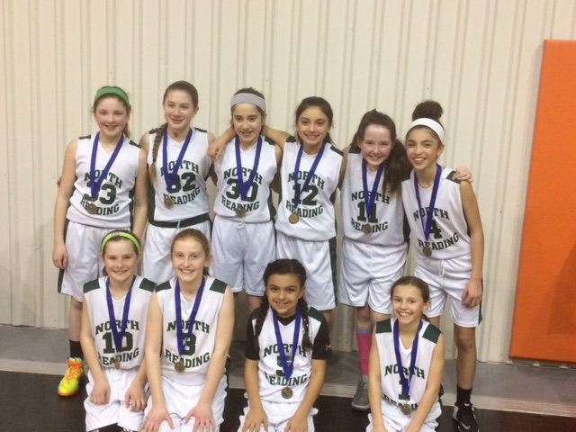 Congrats to North Reading Girls Grade 5 !