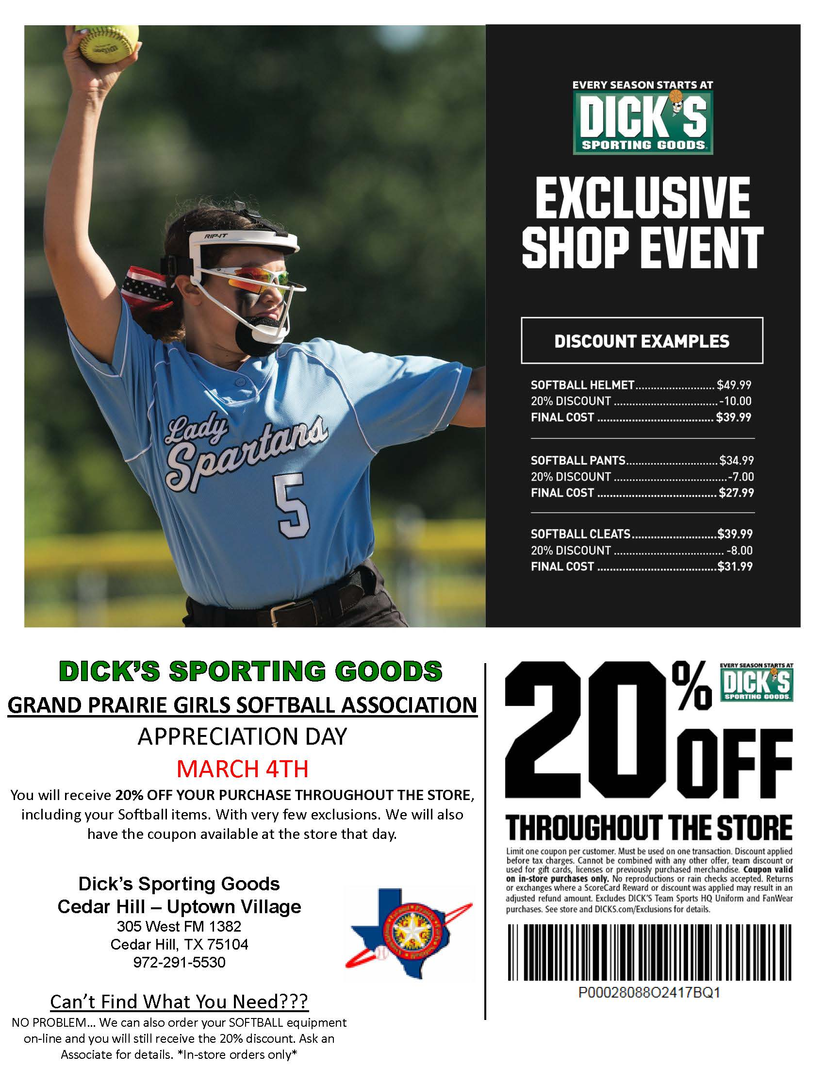 New awesome Dick's Sporting Goods Savings