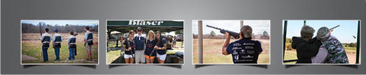 group pictures of youth shooting at the range