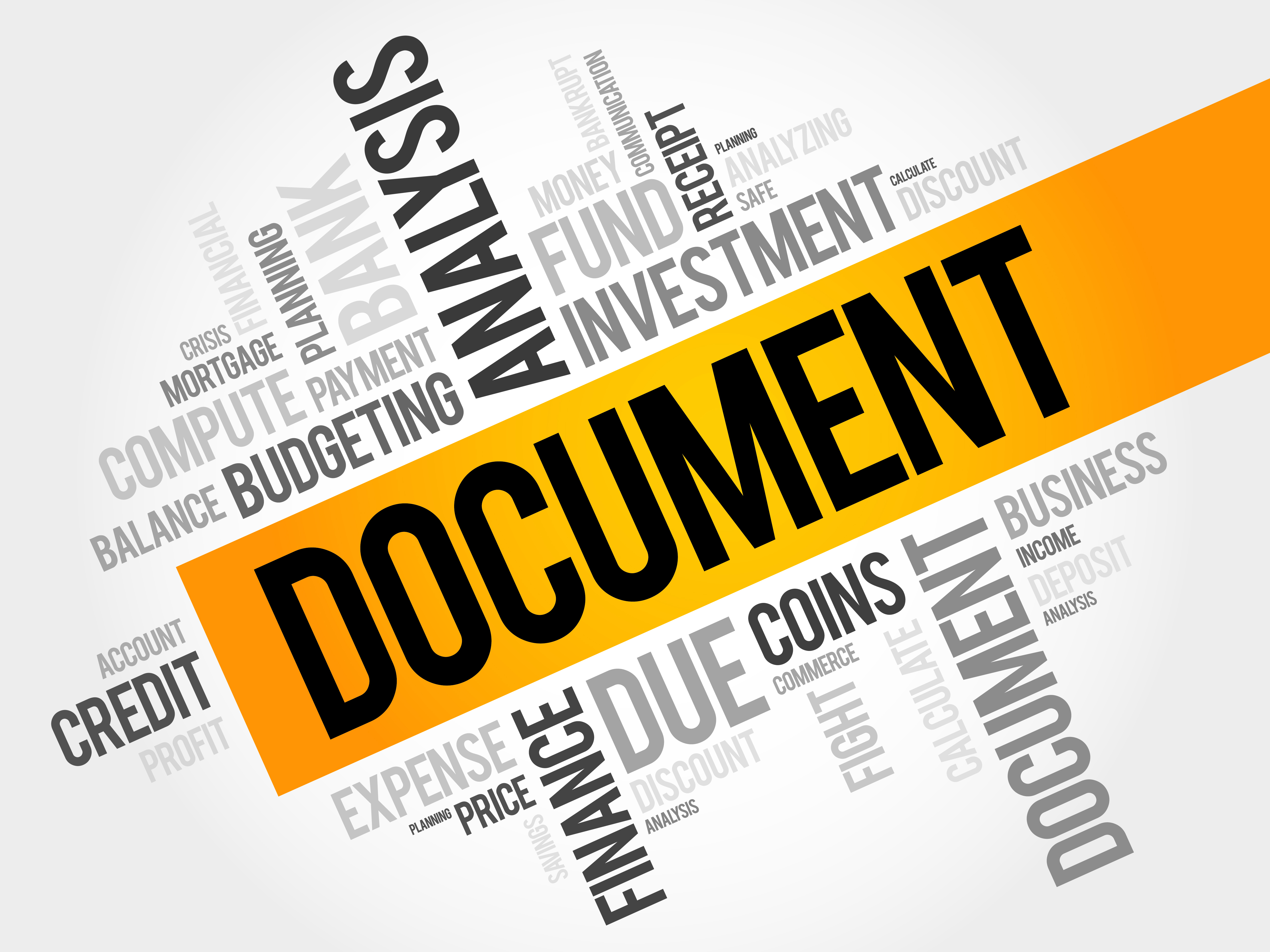 Make sure you have your needed documentation