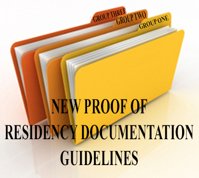 Residency Guidelines