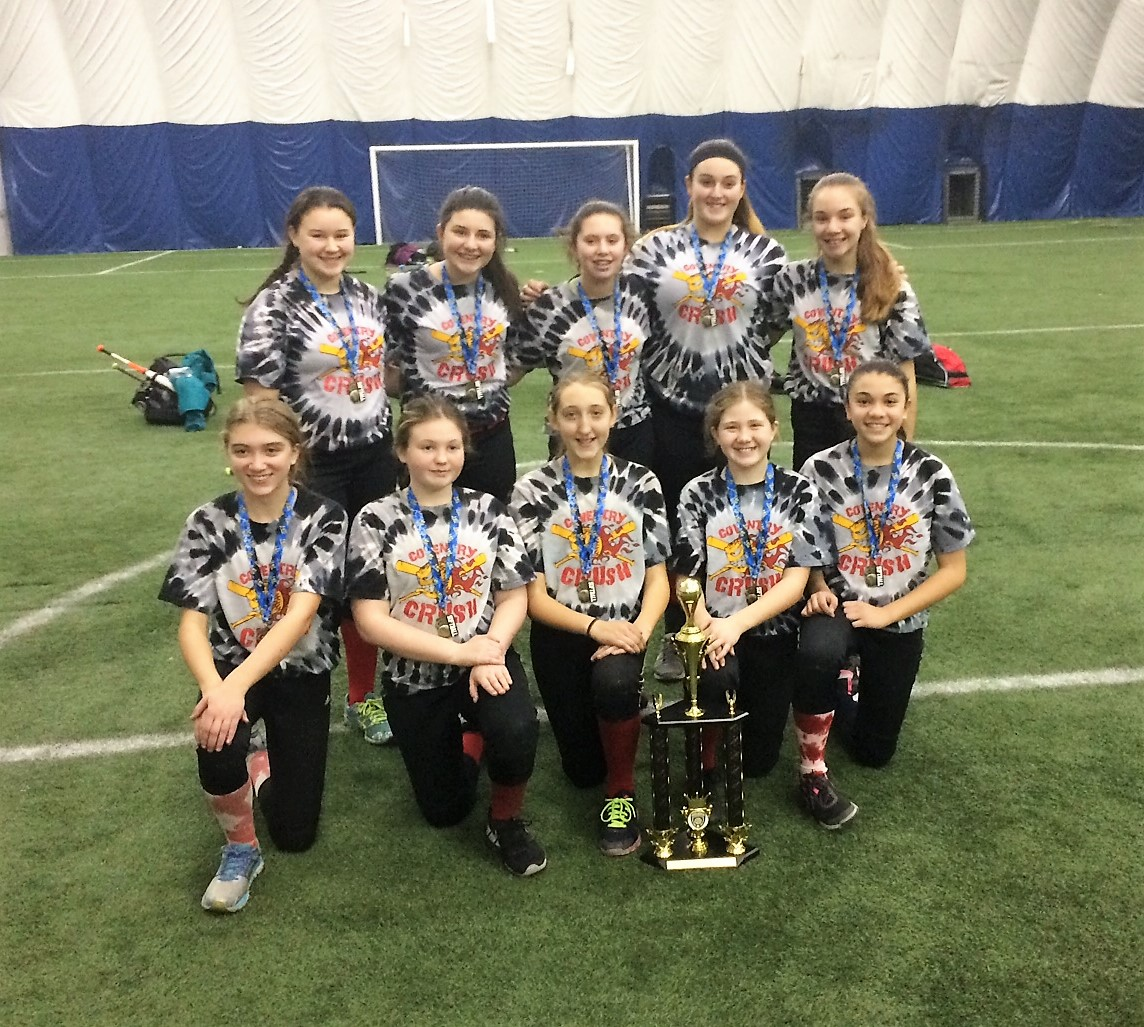 Coventry Crush 12U RedWide World of Indoor Sports (WWIS) February 2017  Tournament Champions
