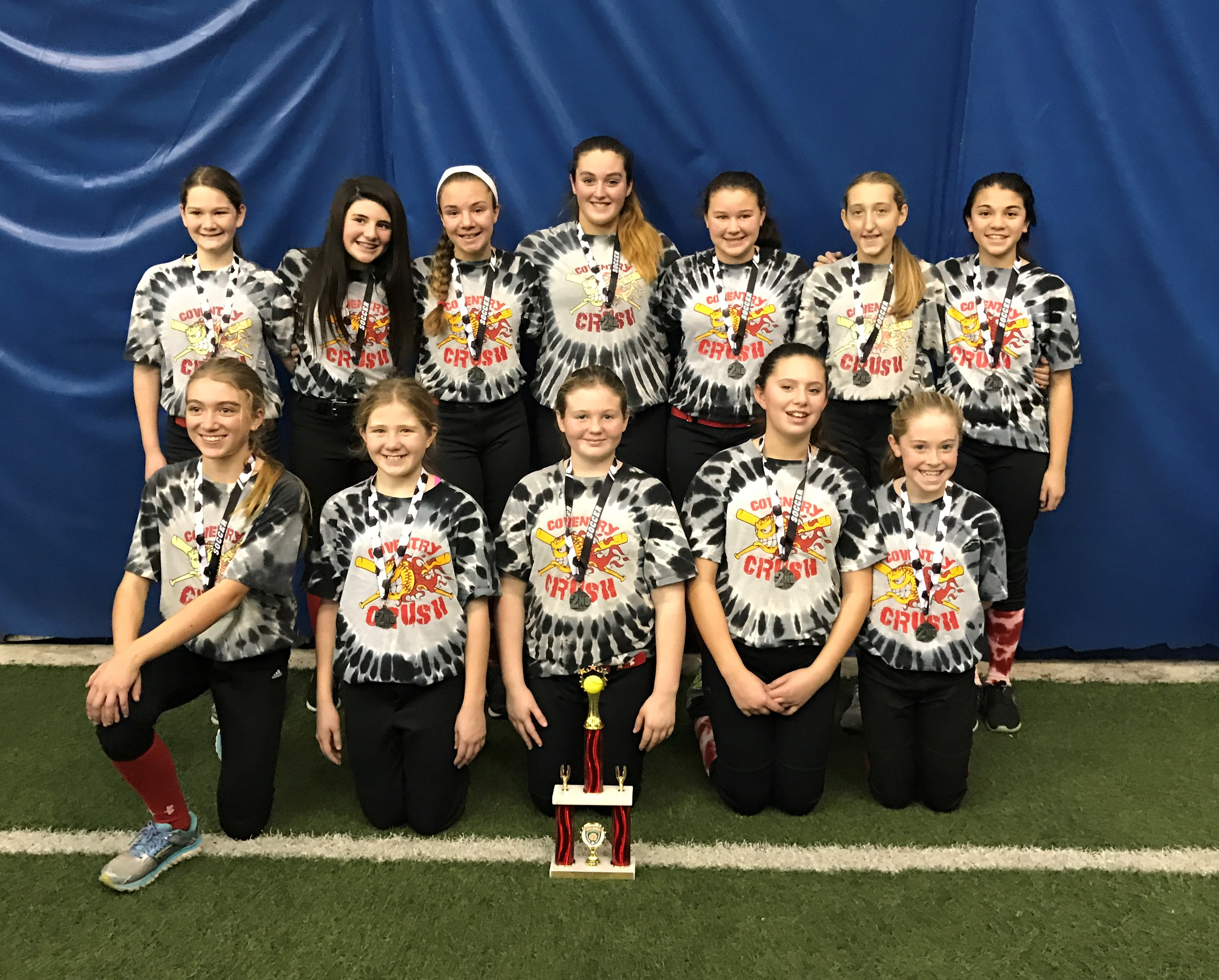 Coventry Crush 12U Red Advances to Finals of WWIS Holiday Tournament