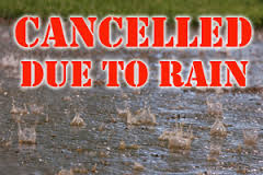 June 5th Session Cancelled Due to Weather