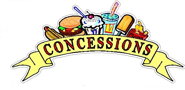 Concession Schedule for Soccer