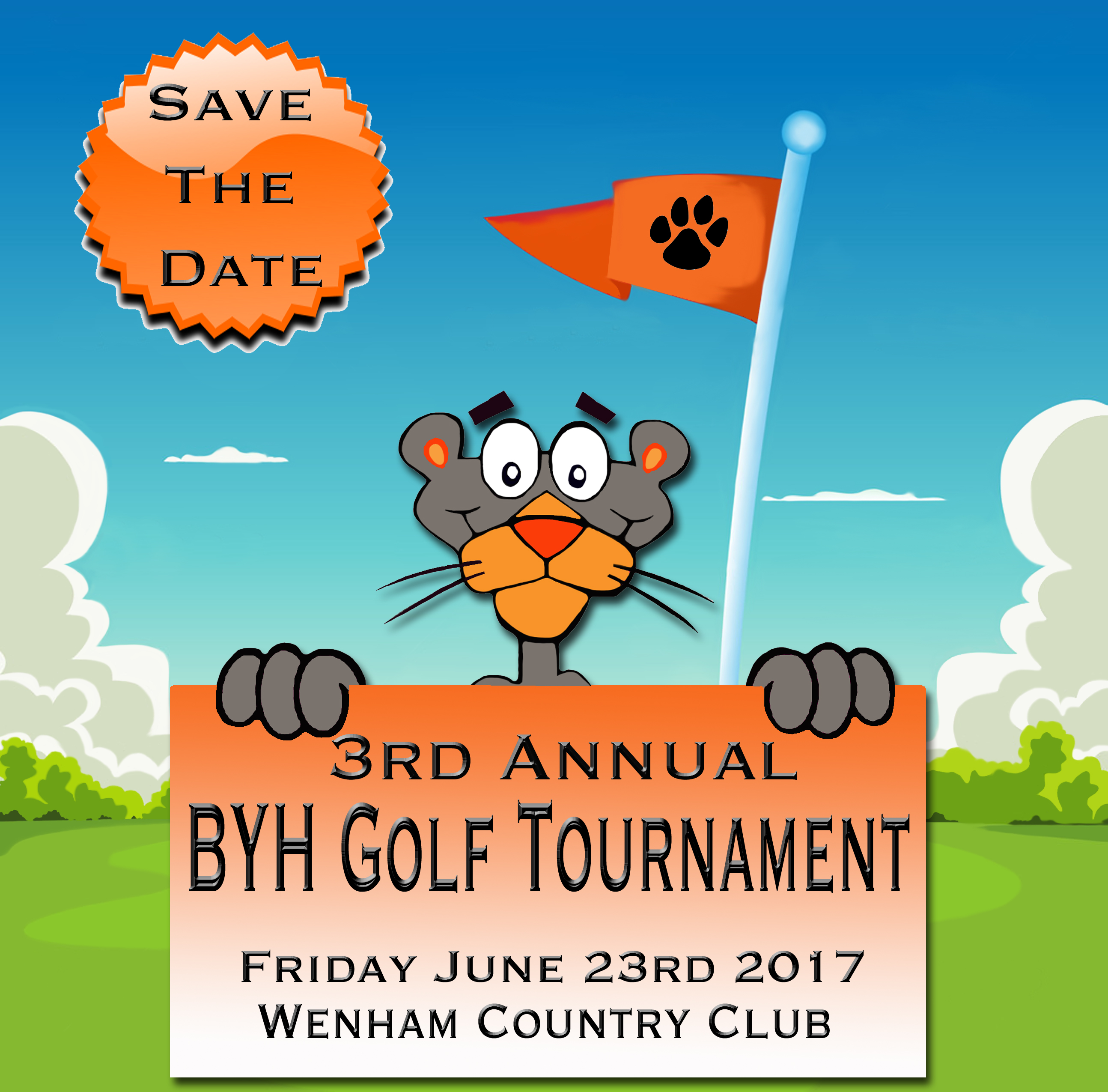 BYH Golf Tourney June 23rd
