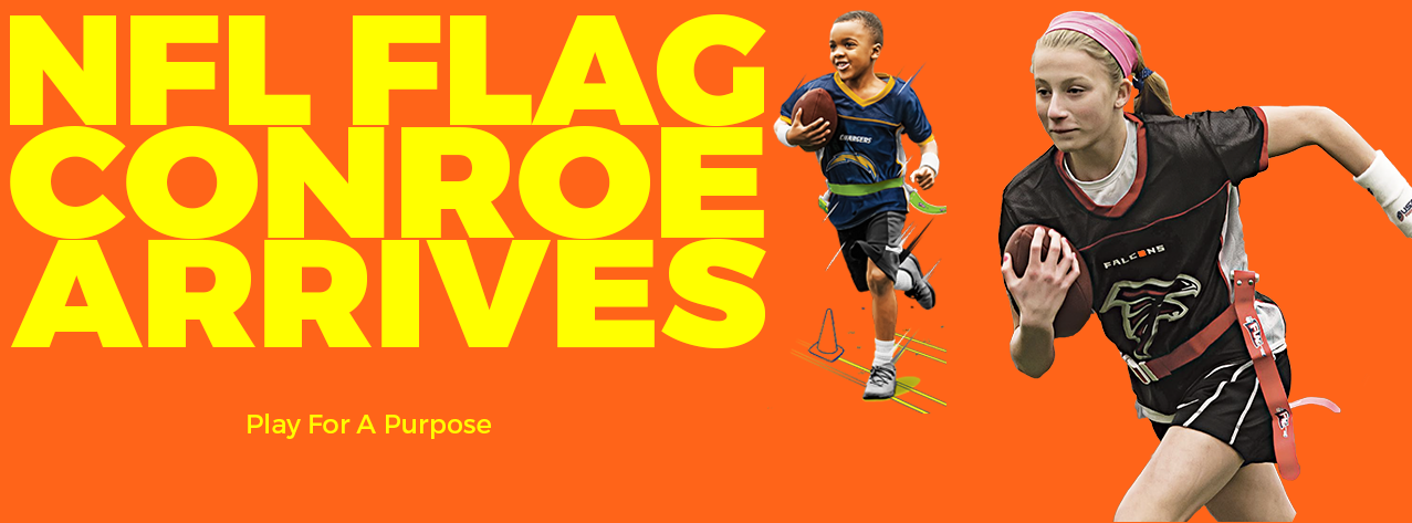 NFL Flag Football is Now in Conroe!