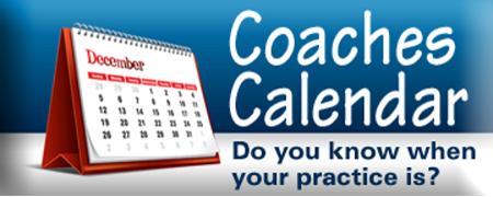 Coaches Calendar