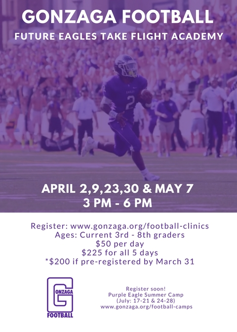 Gonzaga Football Clinic