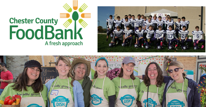 Chester County Crusaders & Chester County Food Bank Team Up