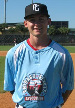 Charlie at the 2014 WWBA World Championship in Jupiter, FL