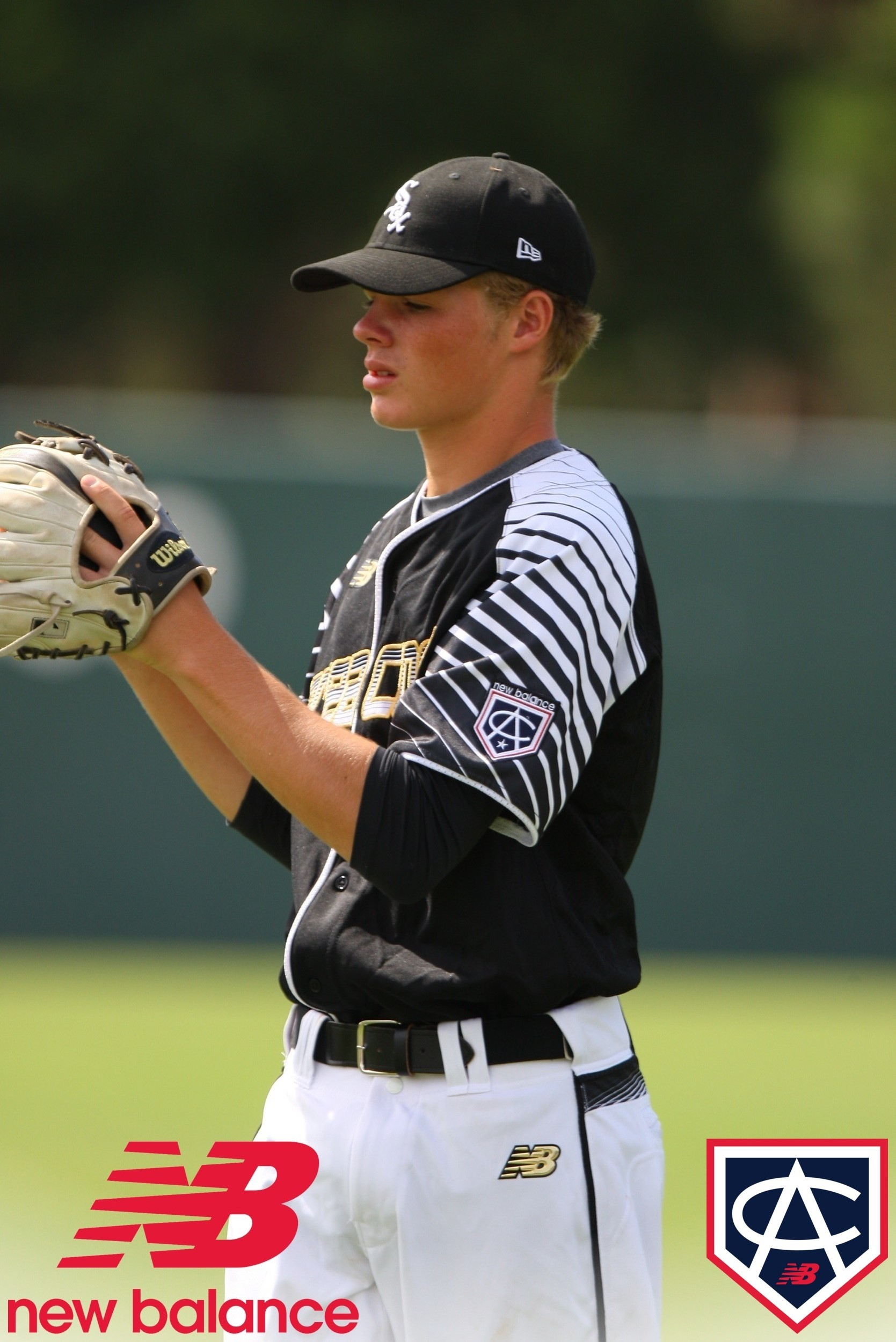 Gavin Lux at the 2015 New Balance Area Code Games in Long Beach, CA