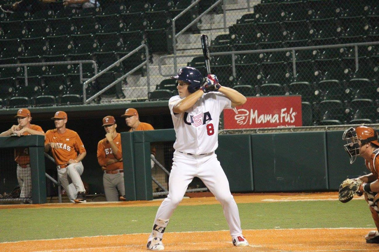 Jarred at USA Baseball's Team Trials