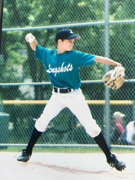 Zack Burdi pitching in the 2008 I94 League