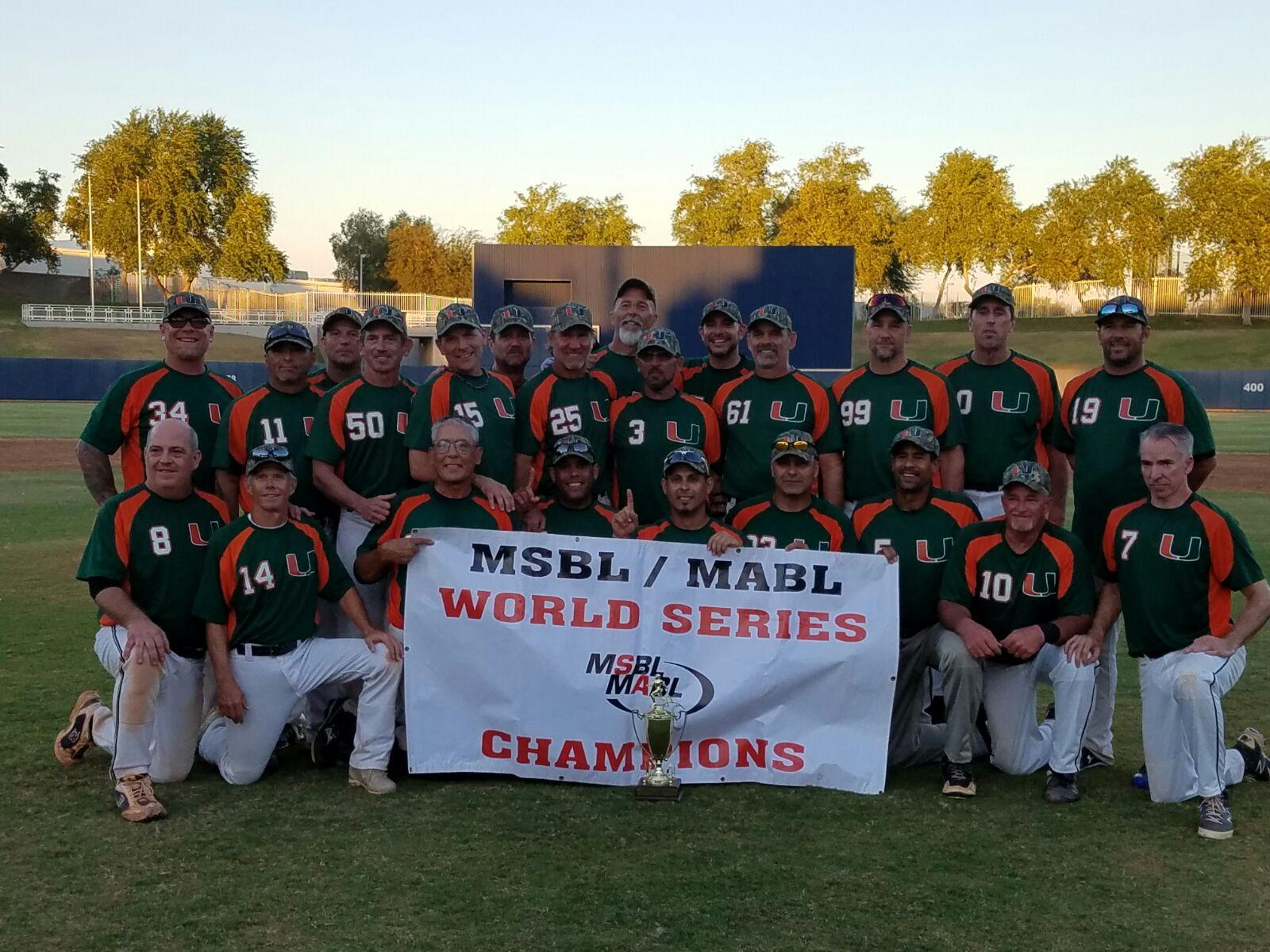 Lehigh Valley MSBL Hurricanes win World Series Title in AZ